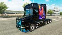 Lobo de la piel v2 para Scania camión T