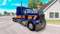 Скин Rollin Transporte v1.1 на Peterbilt 389
