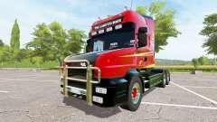 Scania T164 three-axle