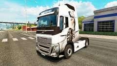 Sexy Fantasía de la piel para camiones Volvo
