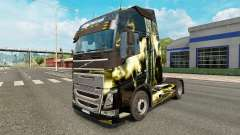 La piel de La mortal tormenta de Volvo trucks