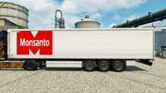 La piel de Monsanto Roundup para remolques