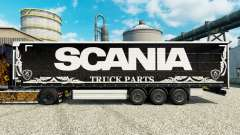 La piel Scania Truck Partes de la oscuridad a la