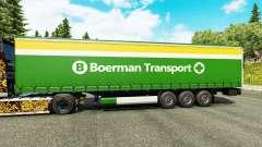 La piel Boerman de Transporte en semi-remolques