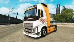 TNT piel para camiones Volvo