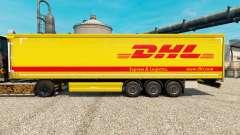 La piel de DHL v4 para remolques