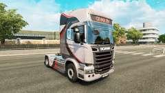 GiVAR BV de la piel para Scania camión