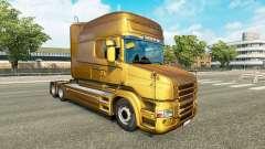 Metálico de la piel para Scania camión T