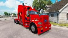 La piel de Arizona, estados UNIDOS Roja tractor