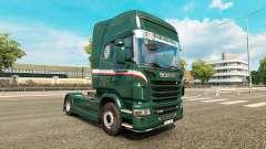 Wallenborn de la piel para Scania camión