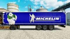La piel en Michelin semi-remolques