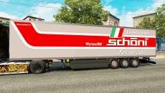 El semirremolque-el refrigerador Schoni Logístic
