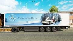 La piel de Mercedes-Benz semi-remolques