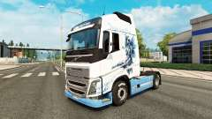 El Vaya con Dios de la piel para camiones Volvo