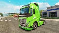 Traer la piel para camiones Volvo