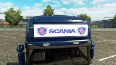 La publicidad caja de luz para Scania Streamline