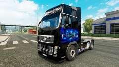 La piel FC Schalke 04 en Volvo trucks