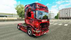 Hintergrund de la piel para Scania camión