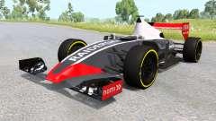 Un coche de fórmula 1