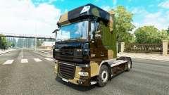 De camuflaje de piel para DAF camión