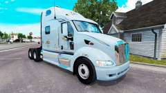 Mercer de la piel para el camión Peterbilt 387