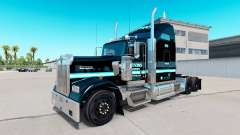 La piel Ervins el Transporte en camión Kenworth