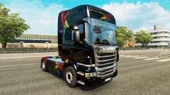 La FDT de la piel para Scania camión