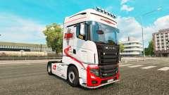 Los duques de Transporte de la piel para Scania