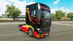 Pirelli piel para Scania camión R700
