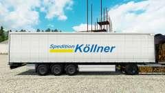 La piel Spedition Kollner en semi