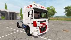 DAF XF container truck