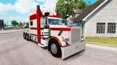 Piel de Conejo Río para el camión Peterbilt 389