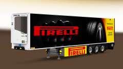 Semi-remolque frigorífico Chereau Pirelli