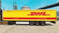 La piel de DHL para v2 semi