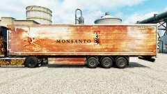 La piel de Monsanto para remolques