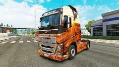 Espíritu libre de la piel para camiones Volvo