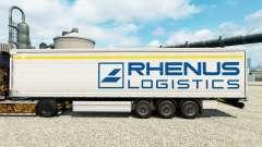 Rhenus Logistics piel para remolques