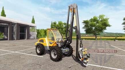 Sampo Rosenlew HR46X full cranecontrols para Farming Simulator 2017