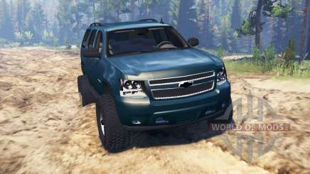 Chevrolet Tahoe 2008 para Spin Tires