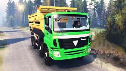 Foton Auman 9 ETX v2.0 para Spin Tires