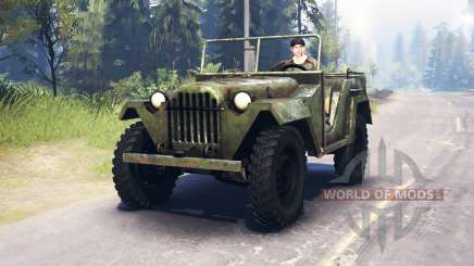 El GAZ-67 1943 para Spin Tires