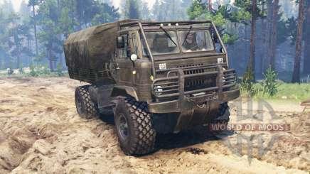 GAZ-66 Vehículo todo terreno para Spin Tires