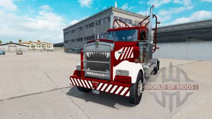 Kenworth W900 Day Cab Heavy Duty para American Truck Simulator
