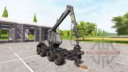 PONSSE ScorpionKing carbon matte para Farming Simulator 2017