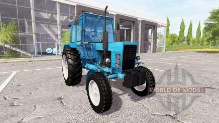 MTZ-80, Bielorrusia v2.0 para Farming Simulator 2017