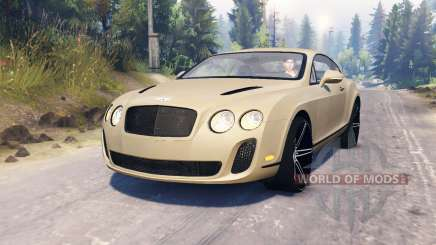 Bentley Continental Supersports para Spin Tires