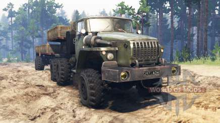 Ural-4320-10 10x10 para Spin Tires