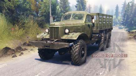 ZIL-157КД para Spin Tires