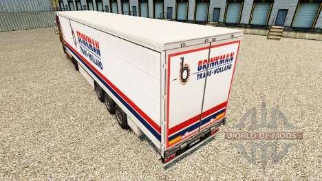 La piel Brinkman en una cortina semi-remolque para Euro Truck Simulator 2