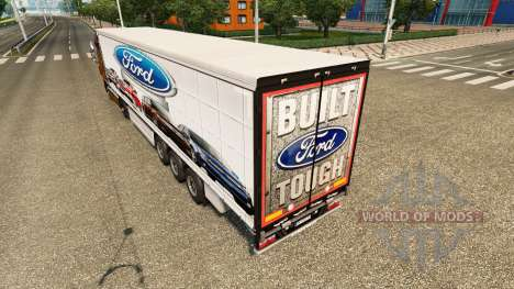 La piel Ford v2.0 cortina semi-remolque para Euro Truck Simulator 2